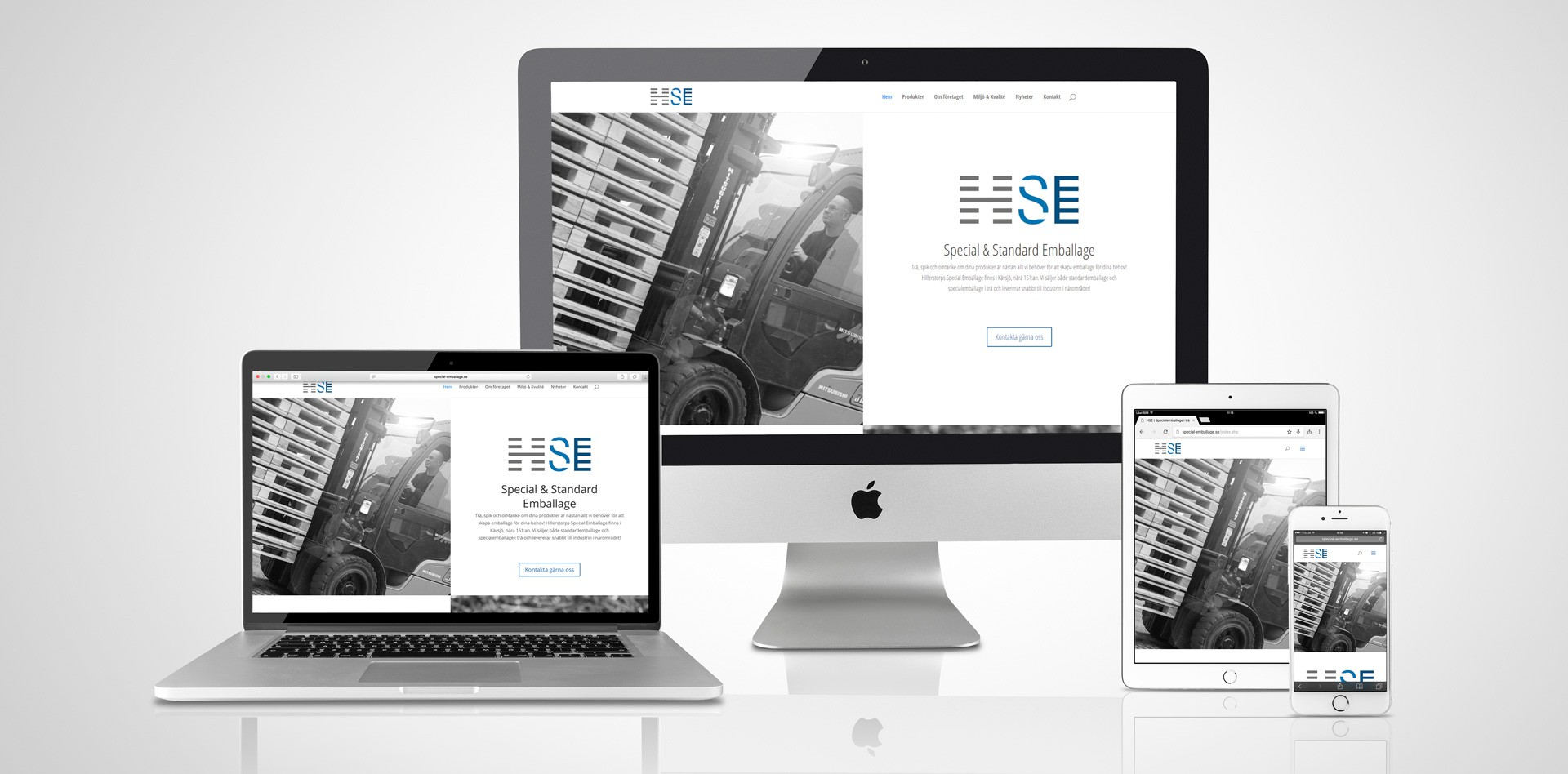 Ny hemsida till HSE