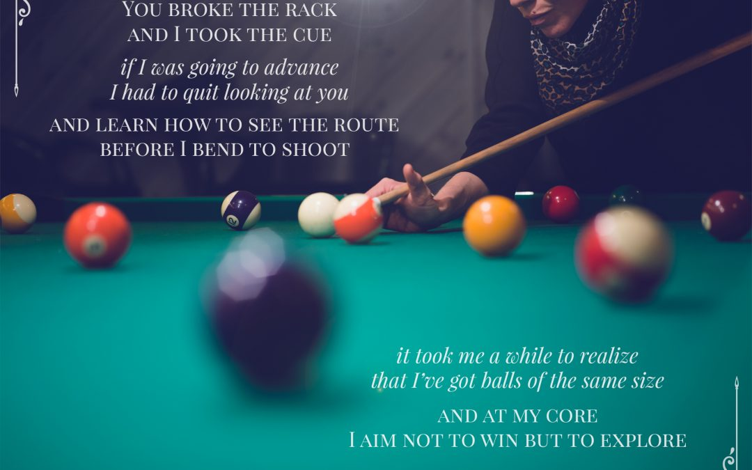 Visual short story: Eight ball